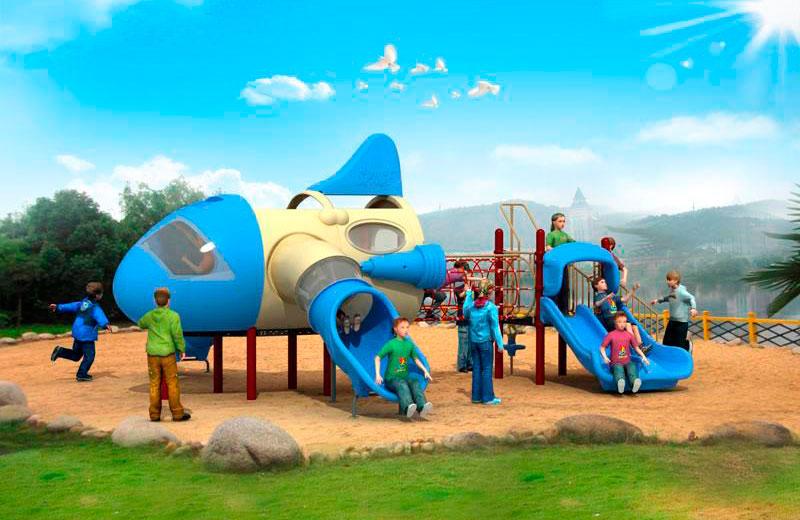 Parques infantiles aviones serie