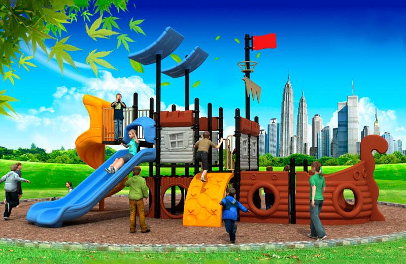 Parques infantiles barcos serie