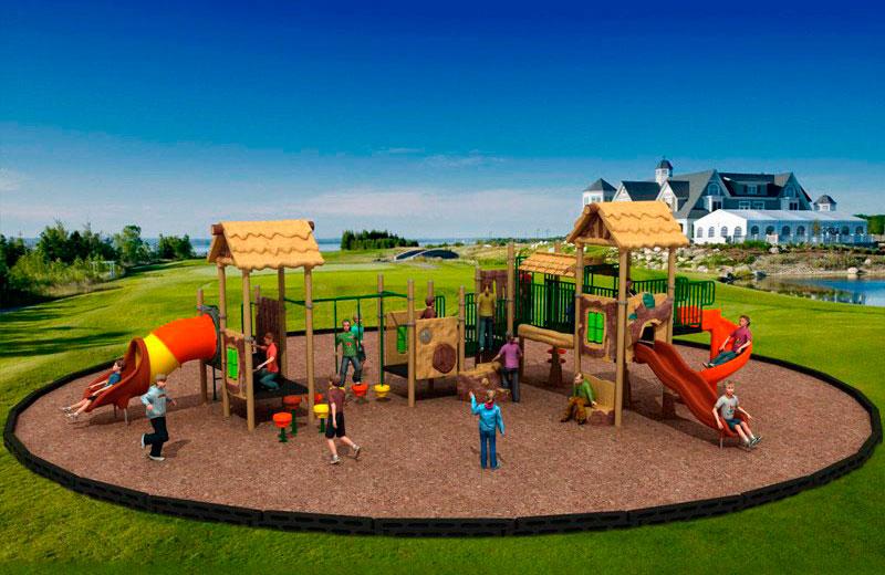 Parques infantiles casitas serie