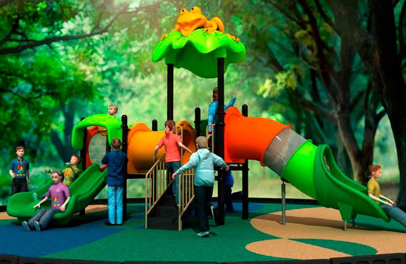 Parques infantiles dibujos animados serie