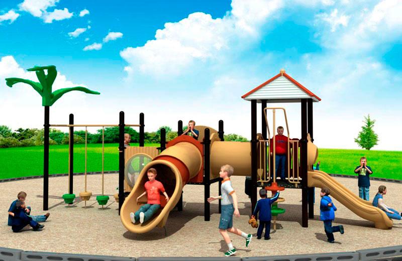 Parques infantiles junquero serie