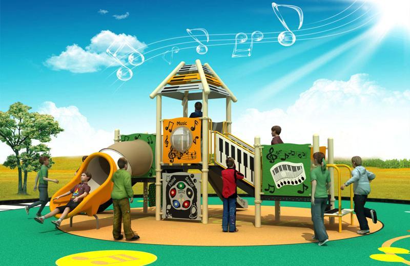 Parques infantiles musicales serie