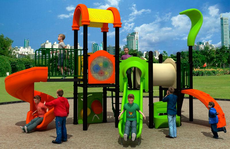 Parques infantiles País de las Maravillas serie