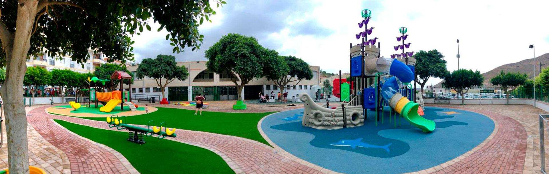 slider parque infantil Albuñol