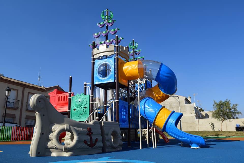Parque infantil Hinojos – Huelva
