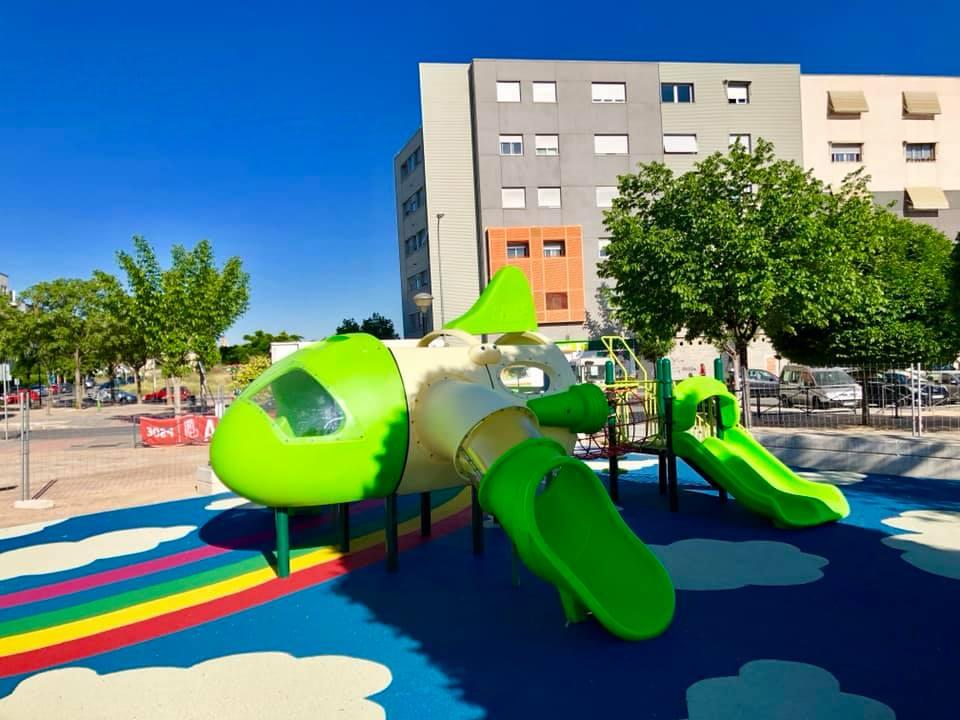 Parque infantil Alhendín Novosur