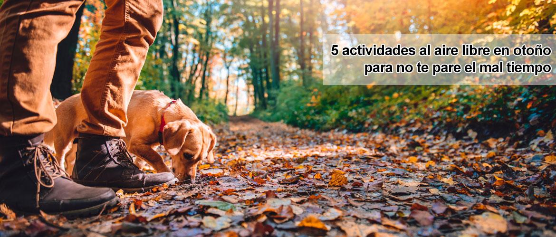 5 actividades al aire libre en otoño para no te pare el mal tiempo
